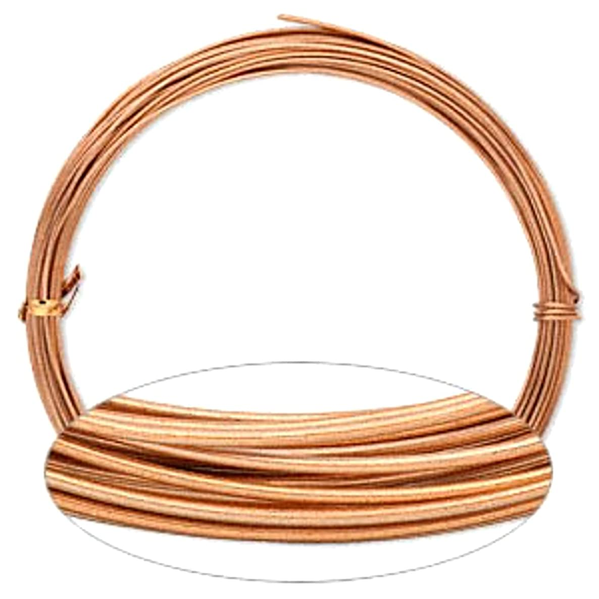Copper Aluminum Wire 16 Gauge Round Wrapping Jewelry Craft 45 Foot Coil