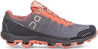ON Women's Cloudventure Running Shoes - Grey/Lava - 10.5