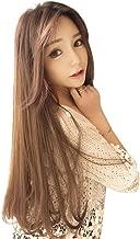 ZITEZHAI-Wigs Wig Film Female Long Hair New Hair Set Hat Wig One Female Summer Fashion Natural Realistic Full Headgear