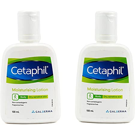 Cetaphil Moisturizing Lotion, 100ml (Pack of 2)