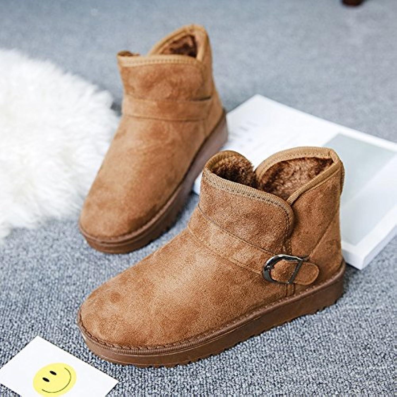 AGECC Damen Stiefel Bequeme Schne Durable Kurzarm Schuh Mit Kurzarm Für Schneestiefel