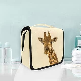 Toiletry Bag Giraffe Portable Makeup Storage Cosmetic Bag