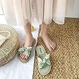 WUHUI Zapatillas de Playa y Piscina, Zapatos de Playa de Verano para Mujer, Green_35, Sandalias Deslizantes Unisex Adulto