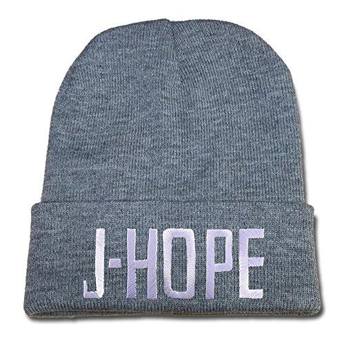 rhxing KPOP Bangtan Boy BTS J-Hope Ajustable Bordado Gorra de béisbol Tapas de Ocio Sombreros Visera Casual Malla Beanie