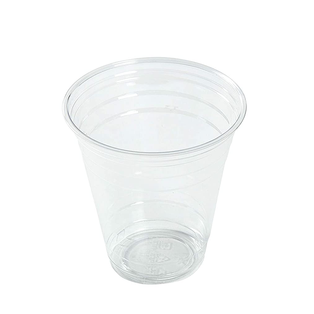 AmerCare 14 Oz Clear PET Cups, Case of 1000