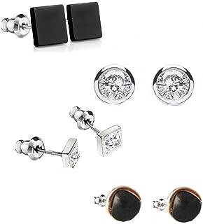 Kaizer Jewelry Combo of 5 University trend Style Stud Earrings For Women & Girls (Daily Wear) DS-18