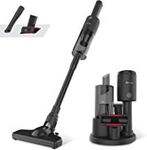 ADVWIN Featherweight Stick Lightweight Cordless Carpet Vacuum Cleaner, 700-1600Pa, Black