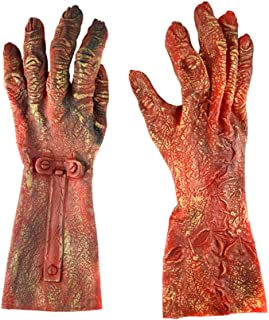 mejor Tienda estilo moderno Amazon.es: guantes latex - Rojo