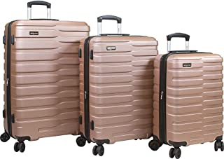 Dejuno Cortex Lightweight 3-Piece Hardside Spinner Luggage Set