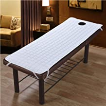 Beauty Salon with Face Hole Mattress,SPA Massage Table Mattress Beauty Salon Soft Tatami Mattress Solid Color,Anti-Slip De...