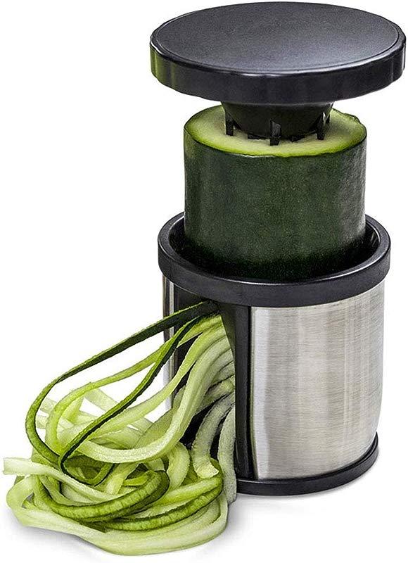 CHXIHome Handheld Spiralizer Vegetable Slicer Stainless Steel Veggie Spiral Slicer Cutter For Noodle Maker Pasta Zucchini Spiral Maker