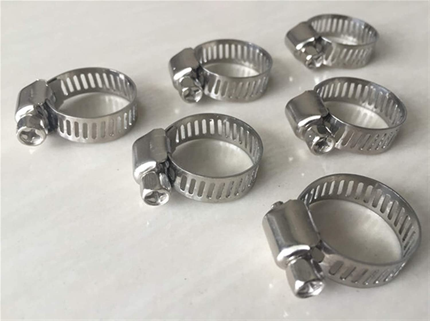 Pipe Tube Direct sale of Ranking TOP14 manufacturer Clips 10pcs Stainless Hose Adjustable Steel Drive Cla