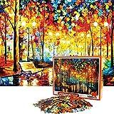 FORMIZON Jigsaw Puzzle, 1000 Piezas Rompecabezas de Juguete, Rompecabezas de Cartón, Juegos de Rompecabezas para la Familia, Rompecabezas para Niños Adolescentes (en la Lluvia)