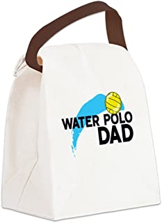 CafePress Water Polo Dad Canvas Lunch Bag Canvas Lunch Bag with Strap Handle