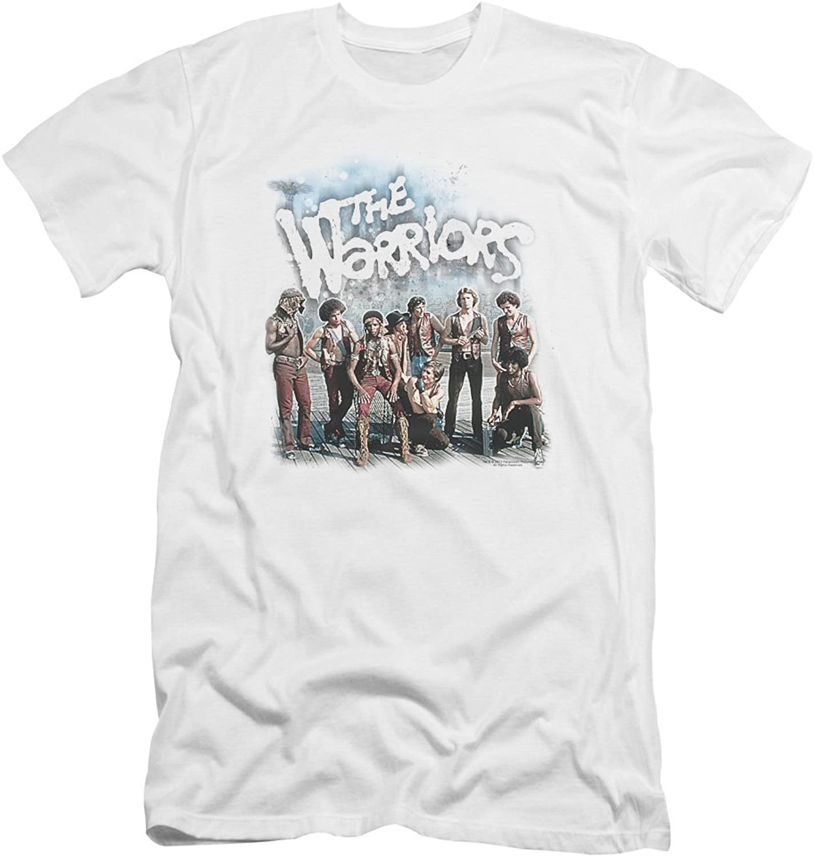 WARRIORS  Mens Amusement Premium Slim Fit TShirt
