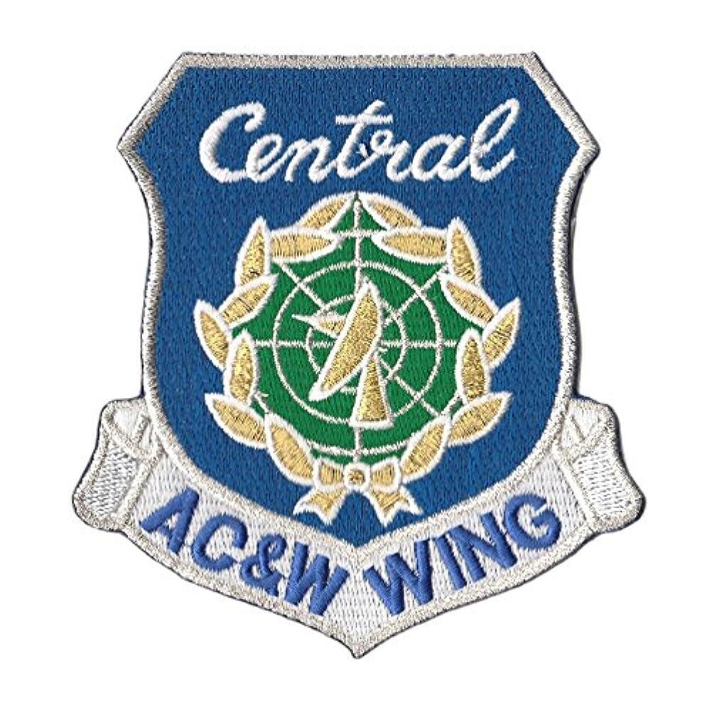 前に全体に主婦自衛隊グッズ ワッペン 中部航空警戒管制団