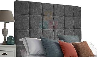 H-Cube meble tapicerowane wyściełane łóżko Divan podstawa zagłówek szenila różne wysokości pasujące diamentowe guziki mont...