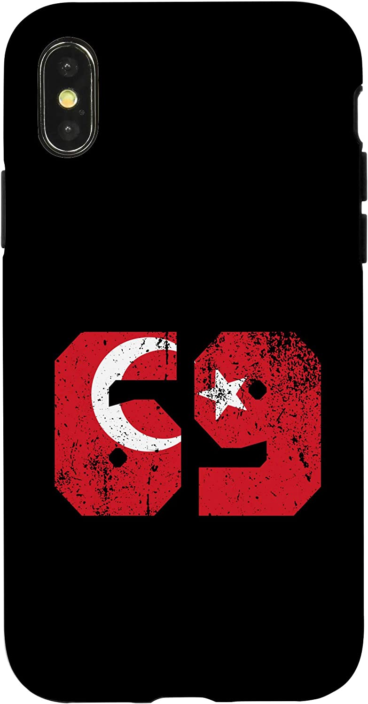 Iphone 7 Plus 8 Plus Bayburt 69 Memleket Türkiye Turkey Flag Gift Case