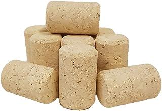 Lot de 50behandelte vin bouchon, Bouchon, pressée, 38x 23,5mm, bouchons agglomérés, Bouchon, vin Bouchon neuf