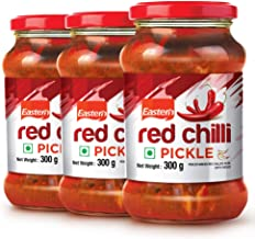 Eastern Red Chilli Pickle, 300 g (Pack of 3)