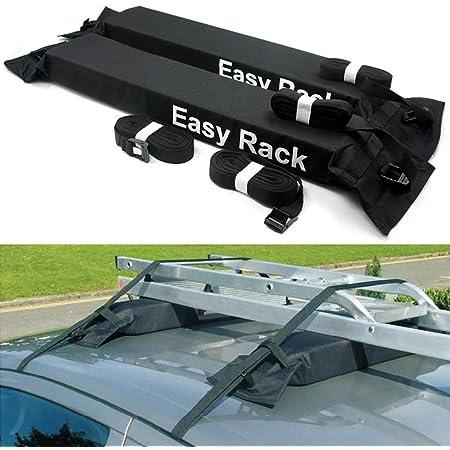 Kkmoon Universal Auto Gepäckträger Für Autos Weich Auf Dem Dach 60 Kg Gepäck Abnehmbar Einfach Zu Montieren Auto