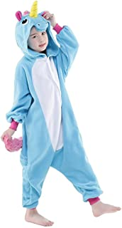 2499ba0dedb39 Pyjama Enfants Unisexe Animaux Pyjama Combinaison de Nuit Grenouillère Noel  Halloween Cosplay Costume
