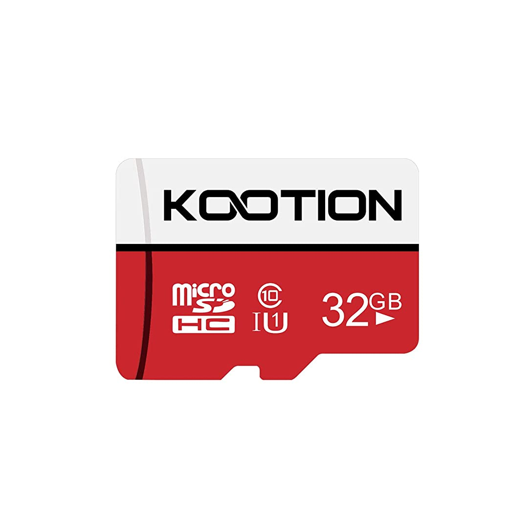 寺院寺院目に見えるKOOTION microSDカード 32GB Class10 UHS-I メモリカード SDHC マイクロSDカード 超高速転送 スマートフォン ドライブレコーダー デジカメ ターブレッド PC 対応