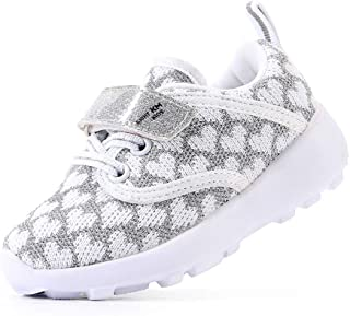 EIGHT KM Zapatos para niños pequeños/niñas Zapatillas Deportivas Ligeras para niños