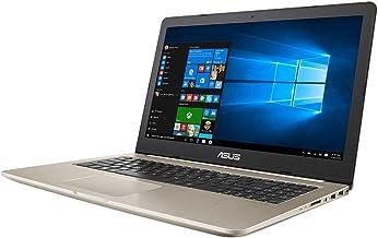 "ASUS N580VD-DM264T Vivo Book Pro HD Laptop (Intel Core i7-7700HQ, 8GB RAM, 1TB HDD, GTX 1050) Windows 10, 15.6"", Gold Metal"