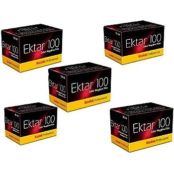 Kodak 35mm Ektar 100 Color Negative (Print) Film 36 Exp. lot of 5 Rolls (Pack of 5), BHBUSWA1025