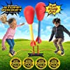 Stomp Rocket The Original Dueling Rockets Launcher, 4 Rockets and Toy Rocket Launcher - Outdoor Rocket STEM Gift for Boys and Girls Ages 5 Years and Up - Great for Year Round Play #4