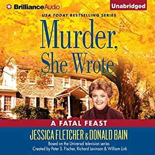 Murder, She Wrote: A Fatal Feast audiobook cover art