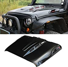 jeep jk heat reduction hood