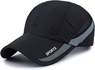 HH HOFNEN Quick Drying Lightweight Baseball Cap Outdoor Airy Mesh UV Protection Sun Hats