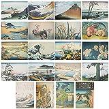 poster 33 x 48,3 cm – 20 disegni hokusai