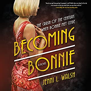 Becoming Bonnie audiobook cover art