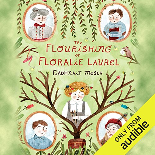 The Flourishing of Floralie Laurel                   Written by:                                                                                                                                 Fiadhnait Moser                               Narrated by:                                                                                                                                 Marisa Calin                      Length: 7 hrs and 43 mins     Not rated yet     Overall 0.0