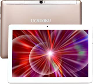 UCSUOKU Tablet 10 Pollici con WIFI, Android 10.0 System,Deca-Core Processor, 4 GB RAM, 64 GB di Memoria,4G LTE Phablet 10....
