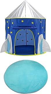 120cm Beige perfk 100/120cm Alfombra de Tienda de Campaña Infantil Coralino Alfombrilla de Yoga