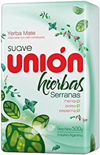 comprar comparacion Yerba Mate Unión Suave 500g Hierbas Serranas
