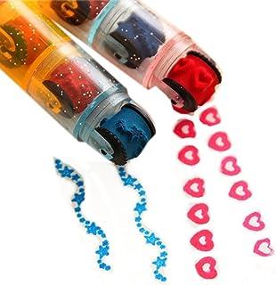 Set of 2 Rodlike Shape Various Pattern Adjustable Stamper, Random Color
