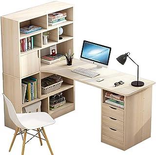 Computer Desk, Modern Simple Compact Office Table Laptop Table Study Home Office Desk Workstation Converter Laptop Desktop...
