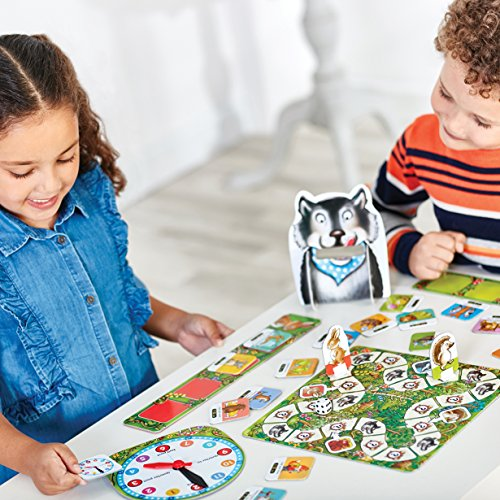 Orchard Toys What's the Time, Mr Wolf Game