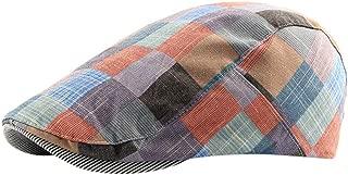 Benficial 2019 New Hat for Men&Women Unisex Cotton Flat Cap Beret Newsboy Ivy Cabbie Hat Casual & Dress Style