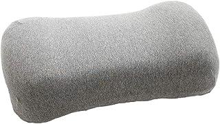 Rekaf Portátil Natural Latex Almohada Individual Pequeña almohada de viaje Almohada Cervical Almohada for Office lateral Traviesas la almuerzo almohada extraíble lavable funda de almohada (40cm * 20cm