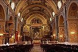 696067 St John's Co Cathedral Interior Valletta Malta A4