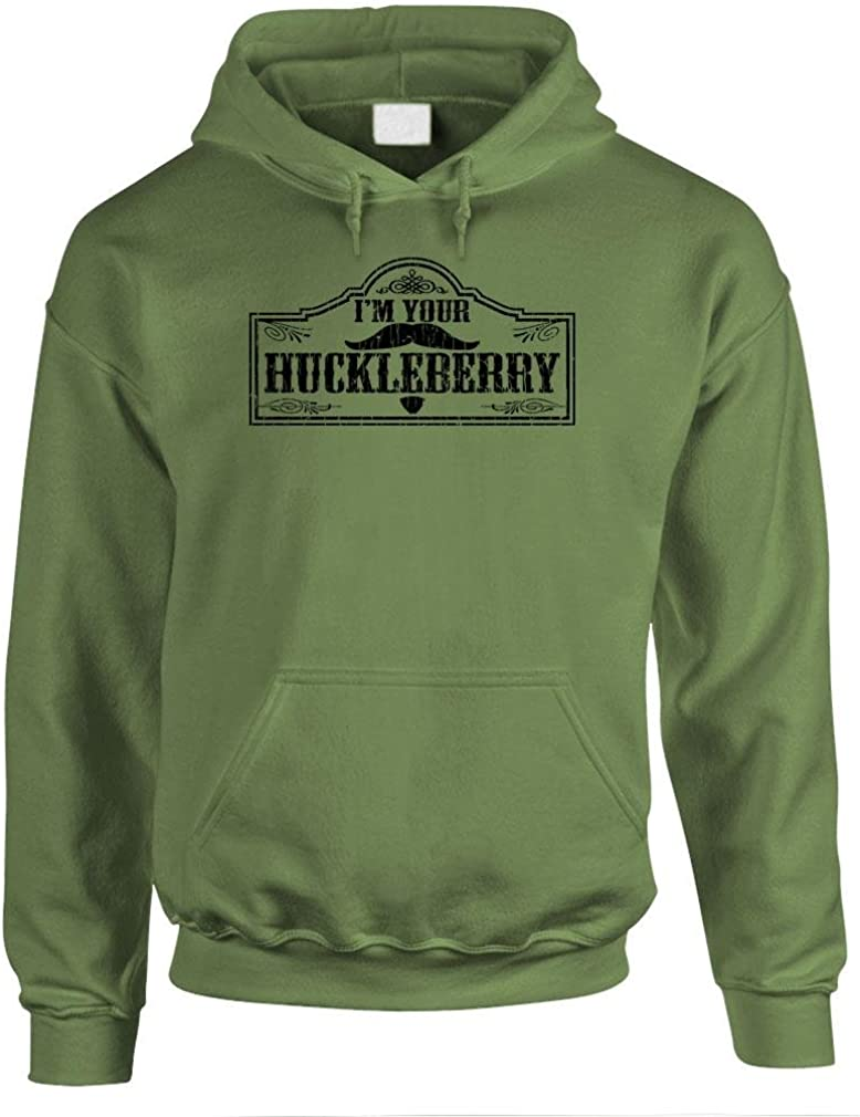 Max 84% OFF I'M YOUR HUCKLEBERRY discount - doc holliday Pullover Mens western Hood