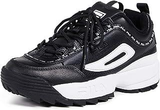 descuento de ventas Fila Wohombres Disruptor II Premium Repeat zapatillas, negro blanco, blanco, blanco, 9 M US  buena calidad