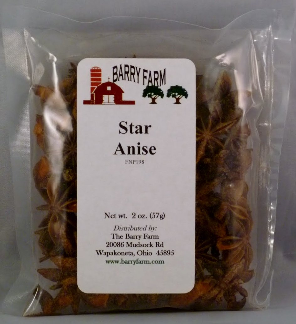 Courier shipping Max 59% OFF free Anise Star Whole oz. 2 Select