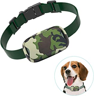 POP VIEW Bark Collar [New Version] Humanely Stops Barking with Sound & Vibration. No Shock, Harmless & Humane, Silver, Small/Medium/Large